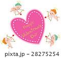 バレンタイン キューピット 天使のイラスト 28275254
