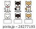 柴犬 犬 動物のイラスト 28277193