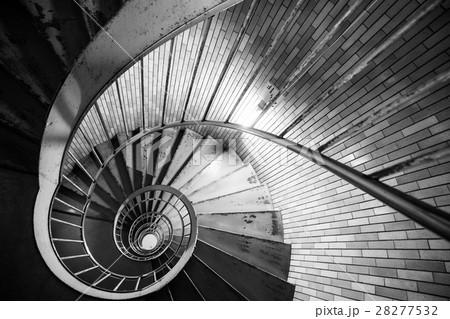 銀座の螺旋階段(東京の風景) 28277532