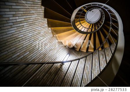 銀座の螺旋階段(東京の風景) 28277533