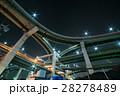 ジャンクション 高速道路 分岐路の写真 28278489