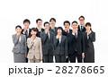ビジネス スーツ 人物の写真 28278665