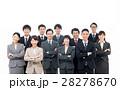 ビジネス スーツ 人物の写真 28278670