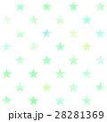 星形 模様 背景素材のイラスト 28281369