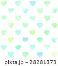 ハート 模様 背景素材のイラスト 28281373