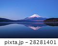 青空 富士山 冠雪の写真 28281401