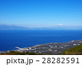伊豆大島 富士山 海の写真 28282591