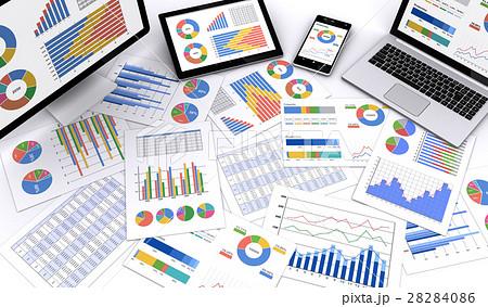 情報機器とビジネス資料 28284086