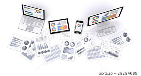 情報機器とビジネス資料 28284089