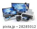 デバイス コンピュータ コンピューターのイラスト 28285012
