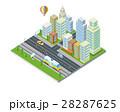 都市 ビル 建物のイラスト 28287625