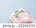電卓 計算機 財布の写真 28294334