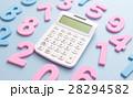電卓と数字 28294582