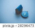 方位磁石 方位磁針 家の写真 28296473