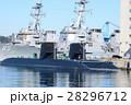 潜水艦 横須賀 青空の写真 28296712