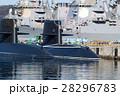 潜水艦 横須賀 青空の写真 28296783