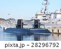 潜水艦 軍港巡り 横須賀市の写真 28296792