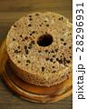 チョコチップ入ココアシフォンケーキ、チョコシフォンケーキ 28296931