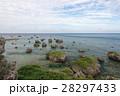 東平安名崎 岬 東シナ海の写真 28297433