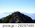 八ヶ岳 岩山 山の写真 28297480
