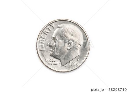 アメリカ合衆国(USA)の貨幣 1D...