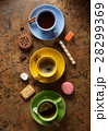 cup of coffee, tea and cacao 28299369