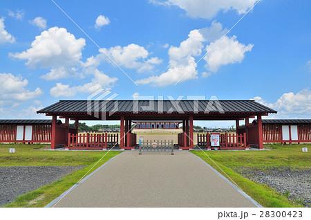 平城京跡の南門(世界遺産):奈良 28300423