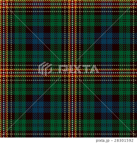 Tartan Seamless Pattern Background.のイラスト素材 [28301592] - PIXTA