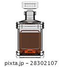 デキャンタ お銚子 ウイスキーのイラスト 28302107
