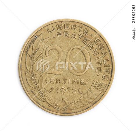 フランスの貨幣  20サンチーム 硬貨 28302263
