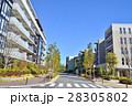 マンション 集合住宅 住宅街の写真 28305802