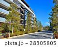 マンション 集合住宅 住宅街の写真 28305805