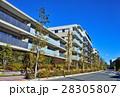 マンション 集合住宅 住宅街の写真 28305807
