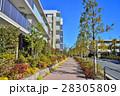 マンション 集合住宅 住宅街の写真 28305809