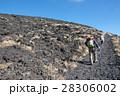 三原山 登山 山登りの写真 28306002
