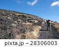 三原山 登山 山登りの写真 28306003
