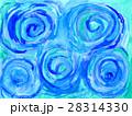 手描きで抽象的な水彩画で渦巻き柄の背景テクスチャー 28314330