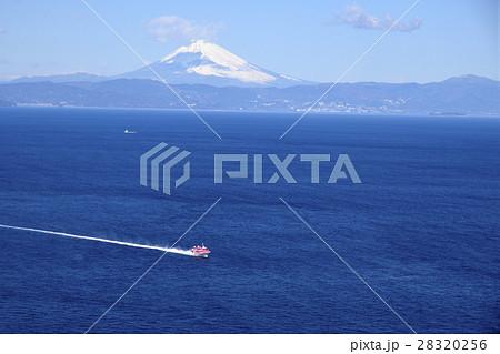 富士山と高速船 28320256