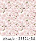 桜の花 シームレスパターン背景素材 28321438