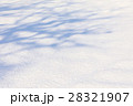 雪 積雪 雪面の写真 28321907