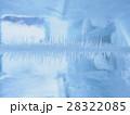 氷の中の華(気泡控え目) 28322085