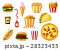 食 料理 食べ物のイラスト 28323433