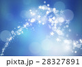 星 背景 ブルーのイラスト 28327891
