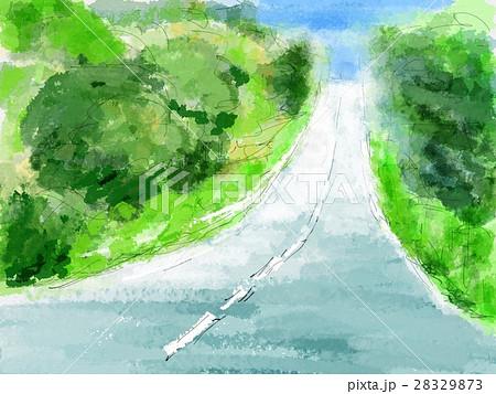 坂道 イラストのイラスト素材 28329873 Pixta