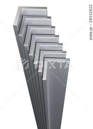 rolled metal l barのイラスト素材 28332622 pixta