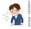 くしゃみをする男性 28336947