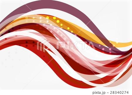 Colorful stripes on light backgroundのイラスト素材 [28340274] - PIXTA