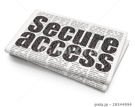 Protection concept: Secure Access on Newspaper 28344994