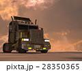 トレーラー セミトレーラー コンボイのイラスト 28350365