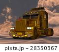 トレーラー セミトレーラー コンボイのイラスト 28350367